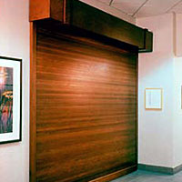 Woodfold - Roll-Up Doors